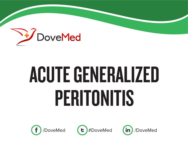 peritonitis usually occurs when