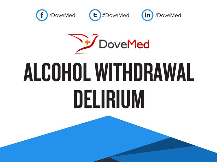 alcohol withdrawal delirium guideline