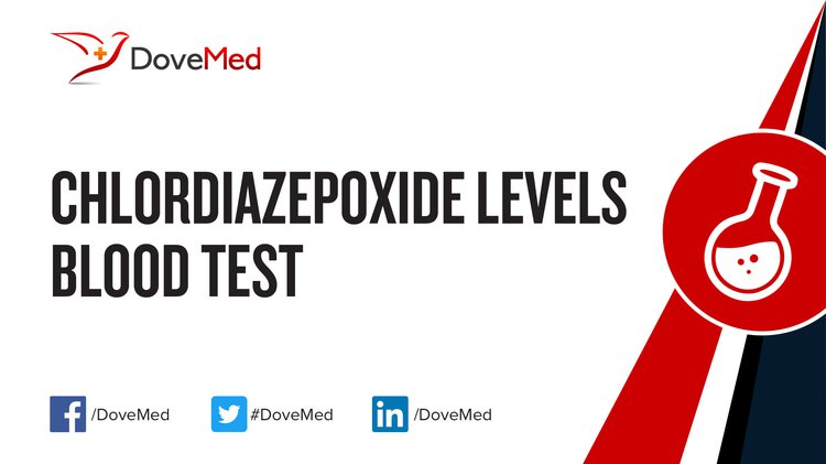 The Chlordiazepoxide Levels Blood Test helps determine the level of  chlordiazepoxide in blood. It is used when adjusting the initial dose, and  to ensure ...