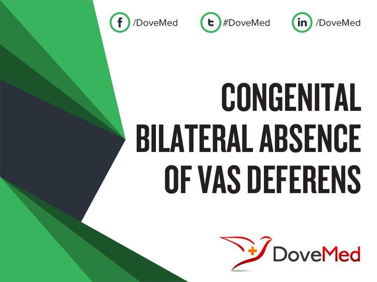 Congenital Bilateral Absence Of Vas Deferens