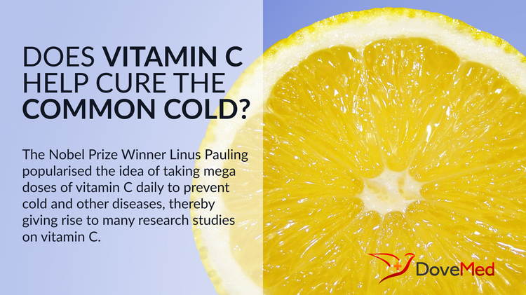 Does Vitamin C Help Cure The Common Cold?