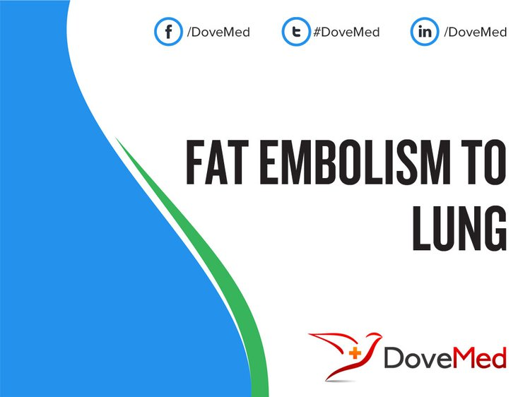 Fat Embolism To Lung