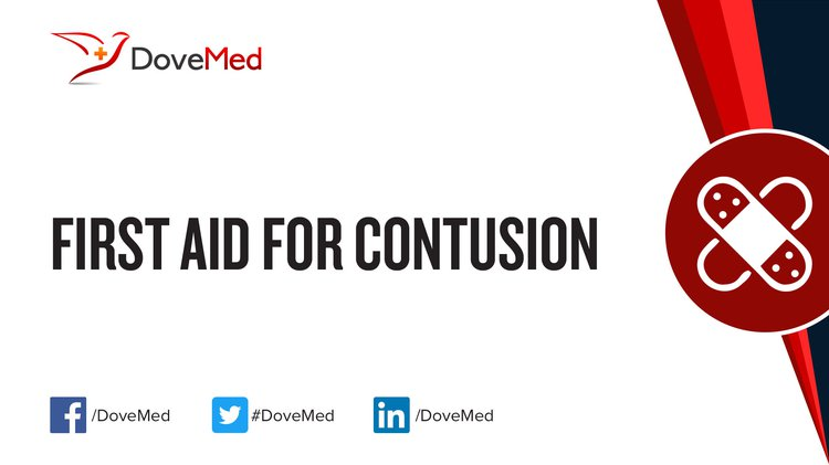 first aid for contusion