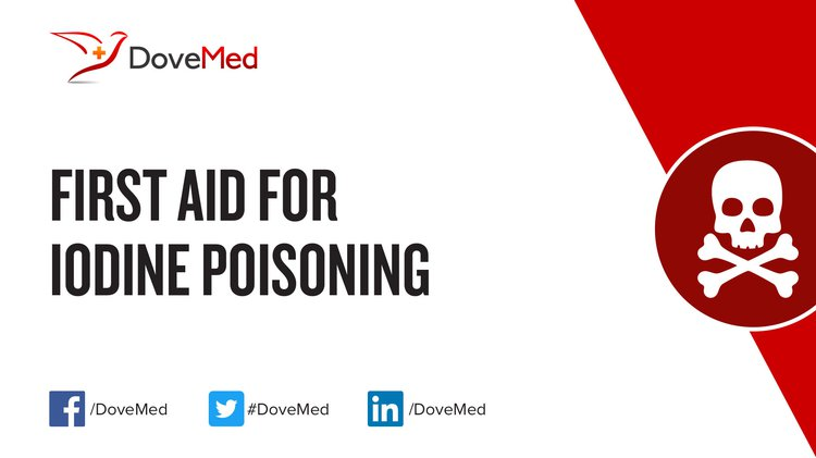 First Aid For Iodine Poisoning
