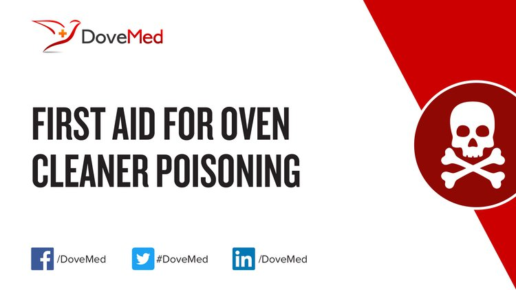First Aid for Oven Cleaner Poisoning