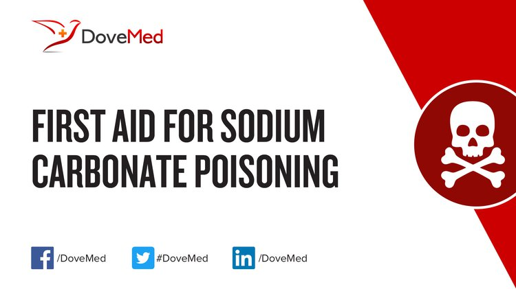 First Aid for Sodium Carbonate Poisoning