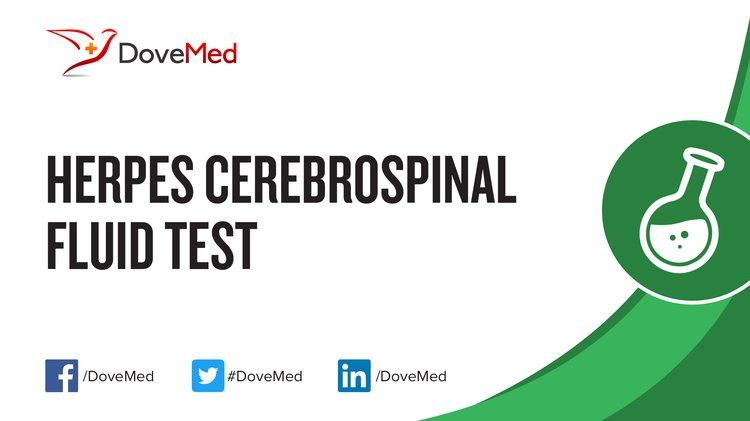 Herpes Cerebrospinal Fluid Test