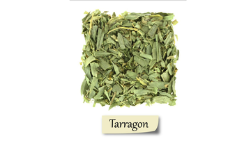 Herbs and spices showing Tarragon.