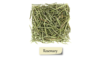 Herbs and spices showing Rosemary.