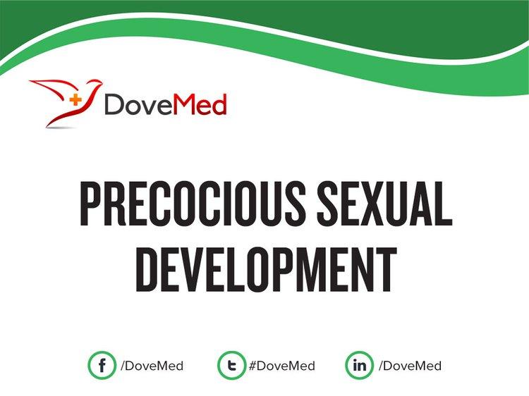 Define precocious sexuality
