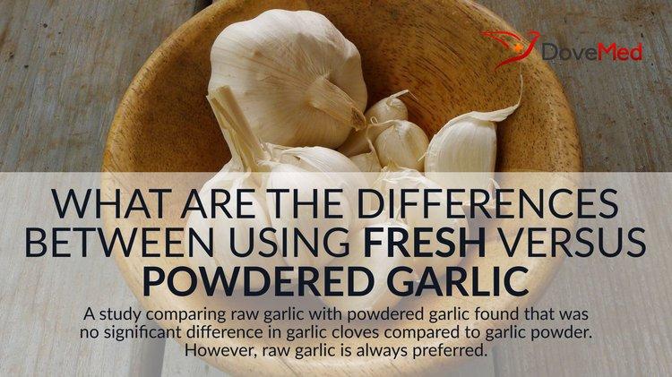 What Are The Differences Between Using Fresh Garlic Versus Garlic Powder?