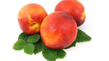 food, fresh, fruit, isolated, leaf, nectarine, organic, peach, red, ripe, vitamin .jpg