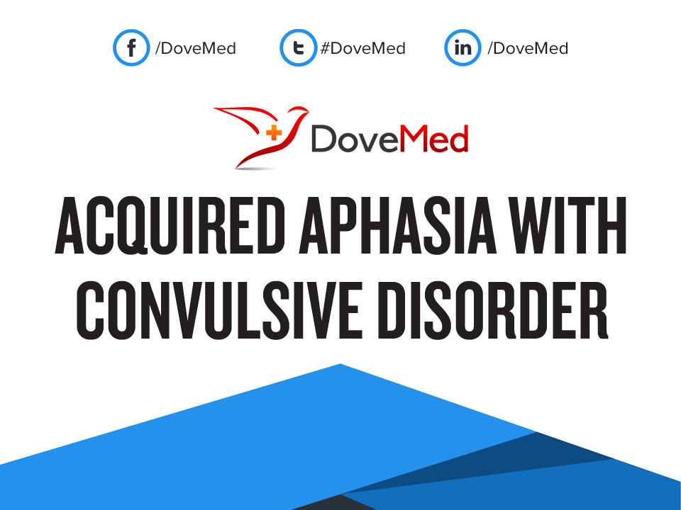 Fifth image of Convulsive Disorders with Acquired Aphasia with Convulsive Disorder
