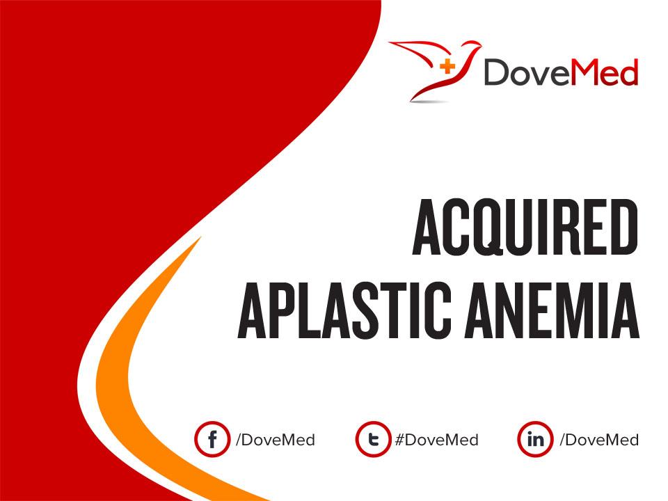 What is idiopathic aplastic anemia