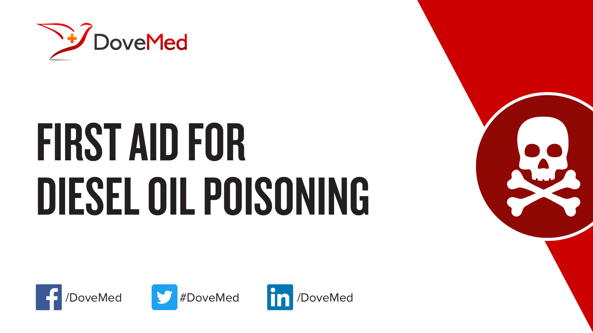First Aid for Diesel Oil Poisoning