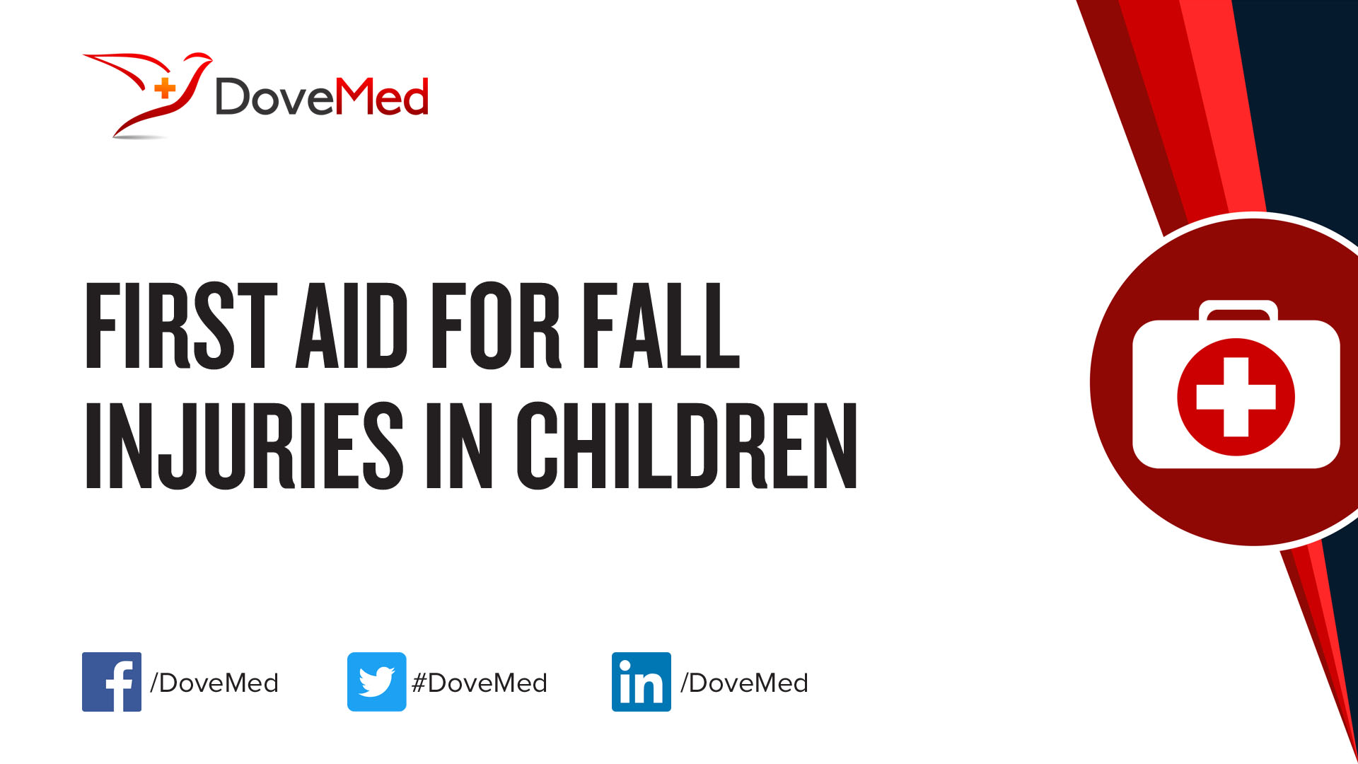 Injuries in children: how to provide first aid
