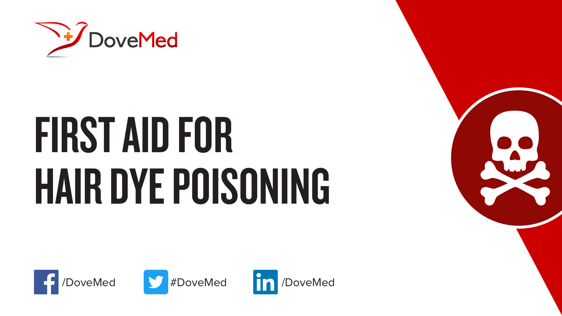 First Aid For Hair Dye Poisoning