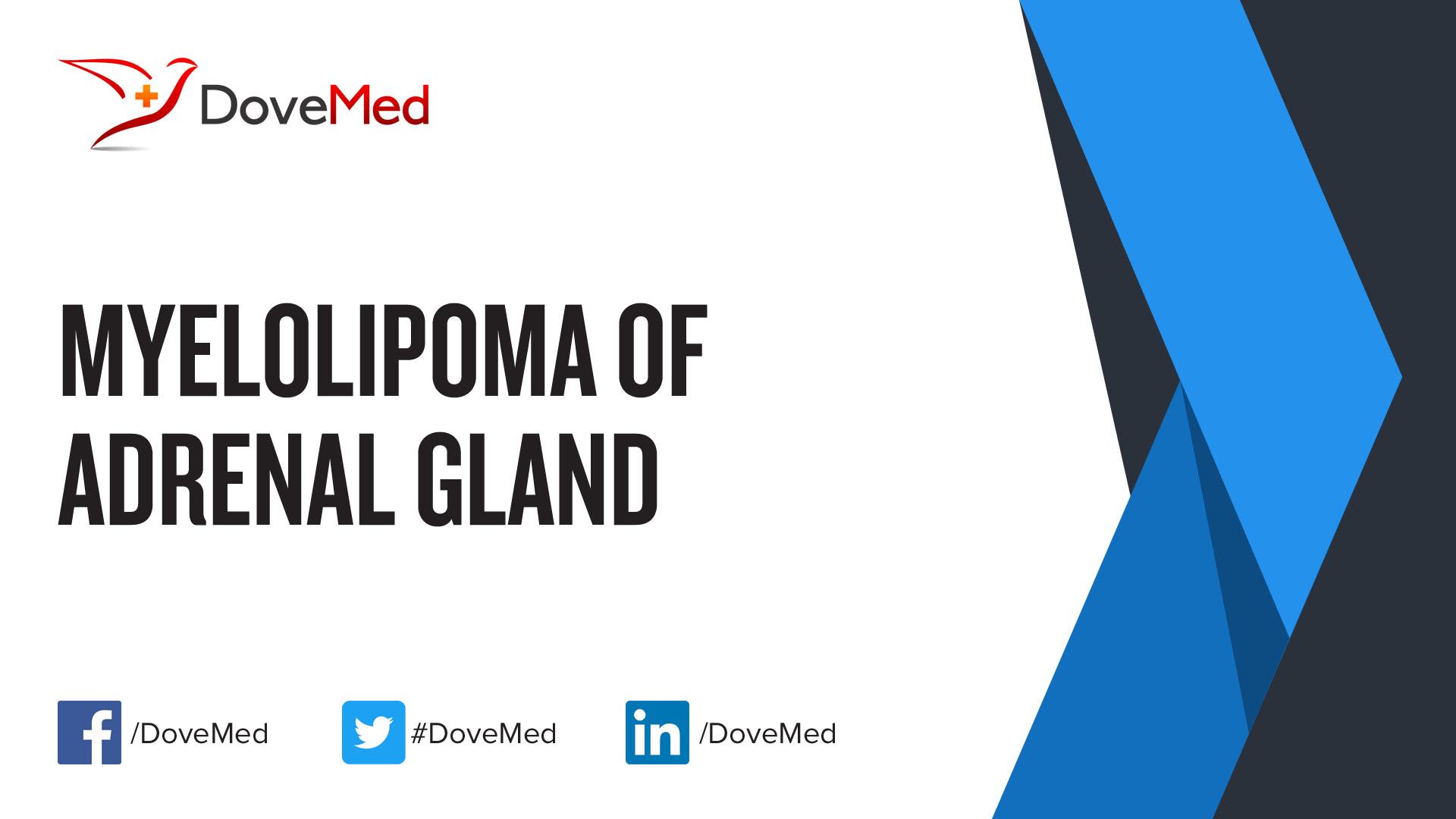 Myelolipoma Of Adrenal Gland