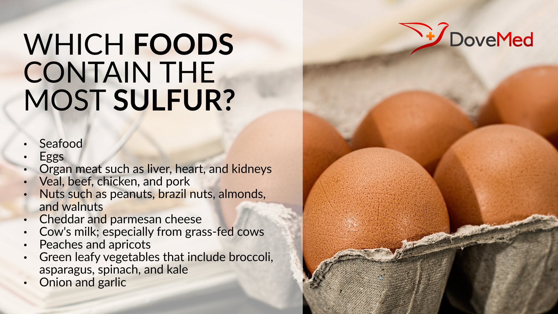 Which Foods Contain The Most Sulfur?