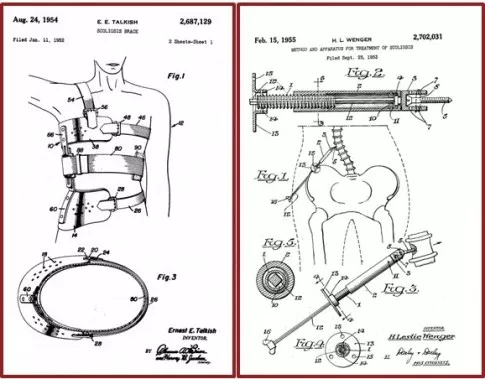 composite spine patents